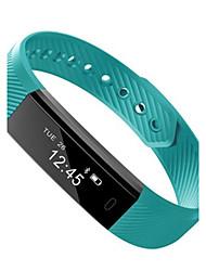 Недорогие -Жен. Смарт-часы Модные часы Цифровой Защита от влаги Pезина Группа Черный Синий Зеленый Фиолетовый Бежевый