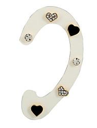 Mulheres Parte de Trás do Brinco Brincos Curtos Brinco Estilo bonito Estilo simples Floral Liga Jóias Para Bandagem Encontro