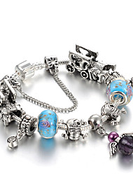 Women's Charm Bracelet Strand Bracelet Crystal Rhinestone Natural Friendship Fashion Gift Boxes & Bags Luxury Crystal Zinc Rhinestones