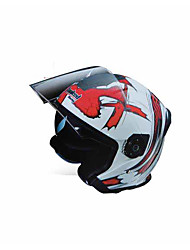 cheap -TORC T597 Motorcycle Helmet Men & Women Electric T597 Dual Lens Half Helmet