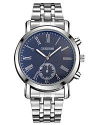 cheap -XU Men's Luxurious Elegant Quartz Alloy Steel Belt Business Large Dial Wrist Watch Dress Watch
