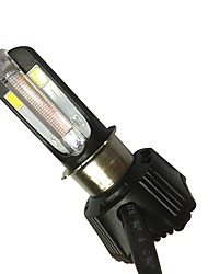 cheap -40W 4000LM Motorcycle LED Headlight Bulb Integrated LED DRL 4 Colors Available