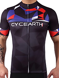 cheap -Cycling Jersey Short Sleeves Bike Top Bike Wear Quick Dry Stretchy Reduces Chafing Cycling / Bike