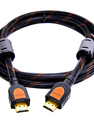 HDMI 2.0 Connect Cable, HDMI 2.0 to HDMI 2.0 Connect Cable Male - Male Gold-plated copper 0.5m(1.5Ft)