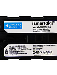 Ismartdigi FM500H 7.2V 1650mAh Camera Battery for Sony DSLR-A77 A100 A200 A350 A450 A550