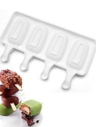 4 cavités minipopsicle gâteau moule glace fraîche style gâteau décoration