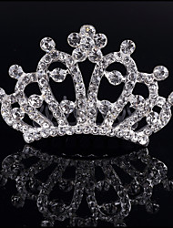 2017 New Fashion Children's Hair Comb Bridal Crown Kid Jewelry Girls Tiaras Wedding Gifts Bride Combs Headwear Accessories Women