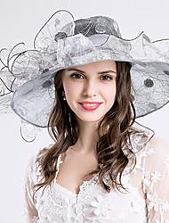 b8c4feffecf Women s Grace Silk   Organza Headpiece-Wedding   Special Occasion   Party    Casual   Outdoor Fascinators Hats 1 Piece Hair Accessories