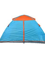 Недорогие -TUOBING® 2 человека Световой тент Двойная Палатка Складной тент Водонепроницаемый Теплый Дожденепроницаемый Защита от  насекомых для См