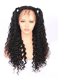 abordables -Mujer Pelucas de Cabello Natural Cabello humano 180% Densidad Produndo Frontal 360º Peluca Negro Corto Medio Largo Entradas Naturales