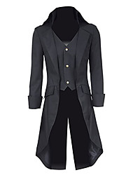 Недорогие -Косплей Костюмы Вдохновлен Косплей Косплей Аниме Косплэй аксессуары Пальто Форма Для мужчин