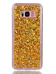 Недорогие -Кейс для Назначение SSamsung Galaxy S8 Plus S8 Стразы IMD Задняя крышка Сияние и блеск Твердый Акриловое волокно для S8 S8 Plus S7 edge