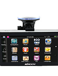 cheap -KKmoon 7 Portable HD Screen GPS Navigator 128MB RAM 4GB ROM MP3 FM Video Play Car Entertainment System with Back Support Free Map