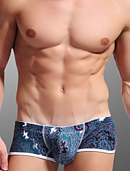 cheap -Men's Super Sexy Boxer Briefs - Print, Floral 1box