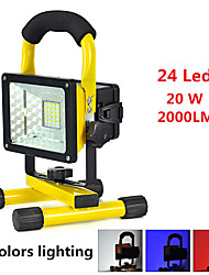 cheap -Handheld Flashlights / Torch LED 2000 lm 3 Mode Alarm / Impact Resistant / Emergency Camping / Hiking / Caving / Everyday Use / Cycling / Bike Black / Yellow