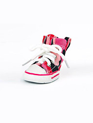 Dog Shoes & Boots Casual/Daily Sports Jeans Blue Pink For Pets