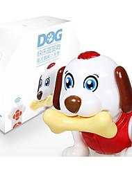 billige -Fjernstyret legetøj Musikalsk legetøj Tilbehør til dukkehuse Hunde Maskine Smart Fjernbetjening Dans Simulering intelligent Elektrisk