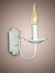 cheap -E14 E12 Simple Modern Wall Lamp  Candle  Single Head Lamp Corridor Bedside Lamp