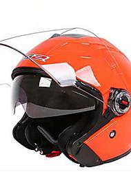 cheap -LS2  OF578 Motorcycle Helmet Men And Women Electric Car Four Seasons Half Helmet Double Lens Half-Covered Helmet Winter