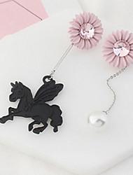 Women's Stud Earrings Drop Earrings Rhinestone Imitation PearlBasic Unique Design Animal Design Friendship Luxury Statement Jewelry