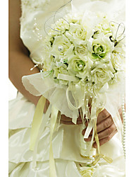 "cheap -Wedding Flowers Bouquets Wedding Organza Satin 12.2""(Approx.31cm)"