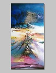 economico -Dipinta a mano Astratto Verticale, Astratto Modern Tela Hang-Dipinto ad olio Decorazioni per la casa Un Pannello