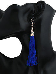 Women's Earring Back Drop Earrings Hoop Earrings Dangling Style Tassel Costume Jewelry Metal Alloy Geometric Jewelry For Dailywear Gift