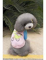 preiswerte -Hund Pullover Hundekleidung Lässig/Alltäglich Cartoon Design Schwarz Orange Grau Gelb Rosa Kostüm Für Haustiere