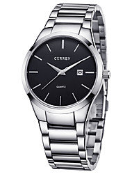 cheap -CURREN Men's Wrist Watch / Sport Watch Calendar / date / day / Creative / Cool Stainless Steel Band Luxury / Casual / Elegant Silver