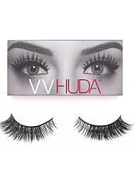 VVHUDA Eyelashes 3D Cross Thick False Eye Lashes Extension Makeup Super Mink Natural Long Fake Eyelashes New Crisscross Candy
