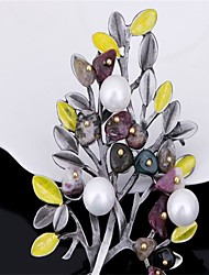 Per donna Spille Gioielli Classico Lega A forma di fiore Gioielli Per Feste Party/serata Da giorno San Valentino Compleanno