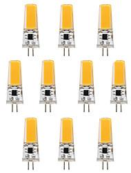 3W G4 LED-lamper med G-sokkel T 1 leds COB Varm hvid Hvid 300lm 3000-3500   6000-6500