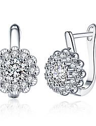 Women's Clip Earrings Earrings Set Cubic Zirconia Rhinestone AAA Cubic ZirconiaBasic Unique Design Tattoo Style Dangling Style Rhinestone
