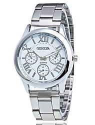 abordables -Hombre Reloj creativo único Reloj de Pulsera Reloj de Vestir Reloj de Moda Reloj Casual Chino Cuarzo Gran venta Aleación Banda Encanto