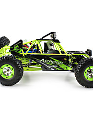 cheap -RC Car WL Toys 12428 2.4G Rock Climbing Car Off Road Car High Speed 4WD Drift Car Buggy SUV 1:12 Brush Electric 50 KM/H Remote Control