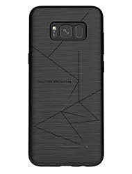 billiga -Nillkin fodral Till Samsung Galaxy S8 Plus / S8 Frostat Skal Linjer / vågor Mjukt TPU för S8 Plus / S8