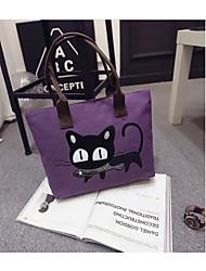 preiswerte -Damen Taschen PU Umhängetasche für Normal Draussen Ganzjährig Schwarz Grau Purpur