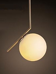 Modern/Contemporary Pendant Light For Indoors Bedroom Study Room/Office AC85-265V Bulb Not Included