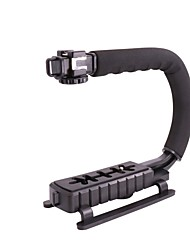 billige Tripods, monopods og tilbehør-Plast Seksjoner Digital Kamera Mobiltelefon Blits Holder