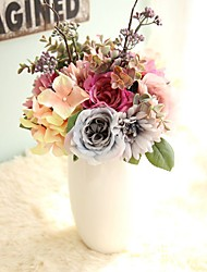 cheap -Give Roses Bouquet Fu Lang Simulation Flower Trade Home Decoration Wedding Artificial Flowers