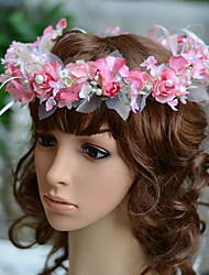YUXIYING Little Roses Hydrangea Wedding Bridal  Child Bridal Head wreath  Flower More Colors