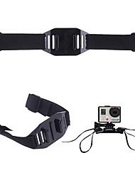 economico -Strap Per Caschi Ventilatt Pieghevole Dinamiche regolabili Per Videocamera sportiva Gopro 6 Tutte le videocamere d'azione Tutti Gopro 5