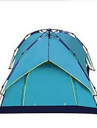 abordables -3-4 personnes Tente Tente de camping Tente pliable Garder au chaud Etanche Résistant aux ultraviolets pour Camping / Randonnée Autre