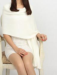 cheap -Women's Imitation Cashmere Rectangle Solid Winter Fall/Autumn