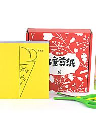 Недорогие -Бумажная модель Игрушки Своими руками Квадратный Бумага Классика Куски Детские Мальчики Подарок