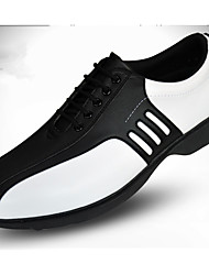 cheap -Golf Shoes Men's Golf Wearable Breathable Training Casual Sports Outdoor Performance Practise Sporty Synthetic Microfiber PU Rubber