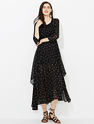 cheap -Women's Street chic Sheath Dress Print