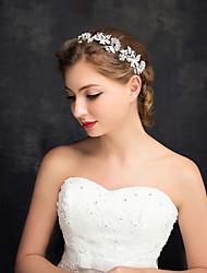 economico -stile elegante del copricapo del bastone dei capelli dei diademi della lega del cristallo di rocca dello zirconia