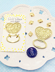 Heart Of Gold Bottle Opener 12x6.7x0.5cm Classic Theme Non-personalised Practical Beter Gifts® Life Style
