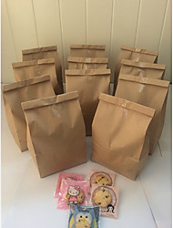 50pcs Grocery Store Bag 31.5 x 18 x 11 cm Brown Kraft Paper Bag Beter Gifts® Life Style / DIY Gift Wrap